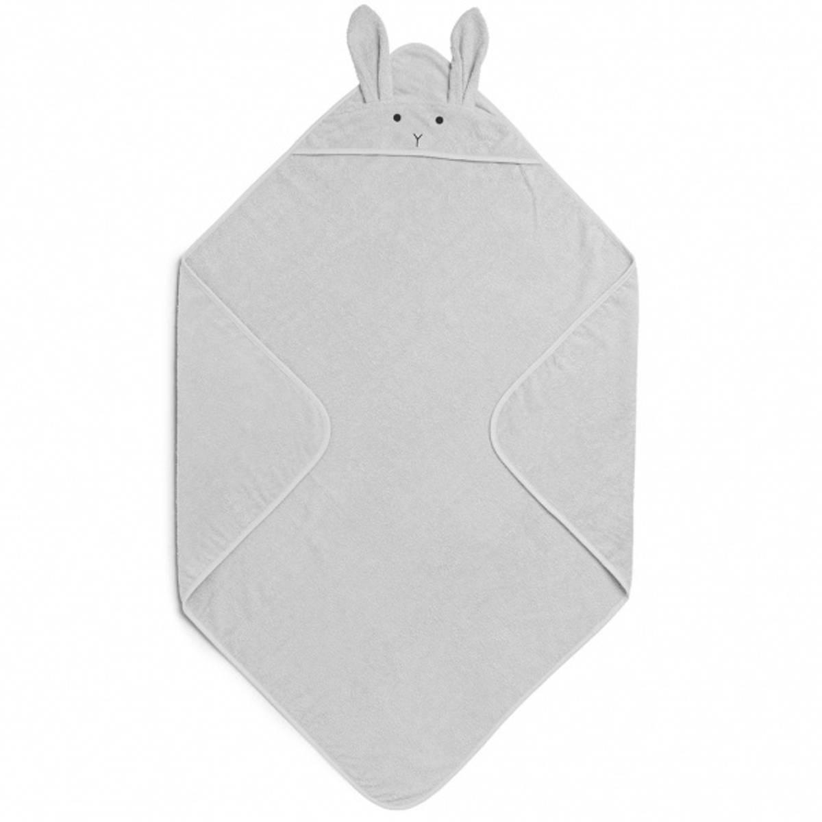 Badehåndkle Augusta Rabbit Solid Dumbo Grey